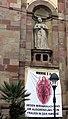 Maria 2.0-Transparent an der Freiburger Unikirche.jpg