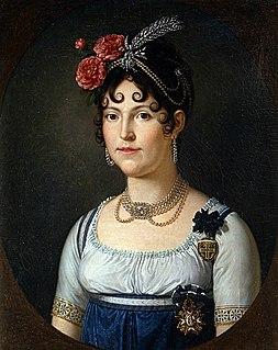 Maria Luisa, Duchess of Lucca Queen consort of Etruria