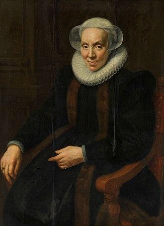 Paulus Moreelse - Image: Maria van Utrecht by Paulus Moreelse 1615