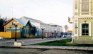 Town in Chuvashia, Russia