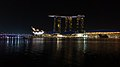 Marina Bay Sands, Singapore, at night - 20131030.jpg