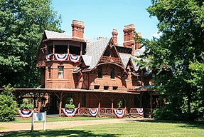 Frontfassade Mark Twain House and Museum (2007)