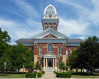 Marshall, Missouri - Saline County Courthouse in Marshall