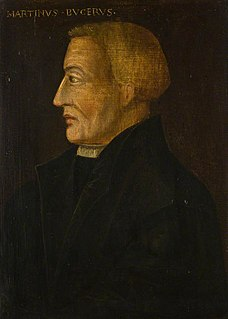 Martin Bucer 16th-century German Prostestant reformer