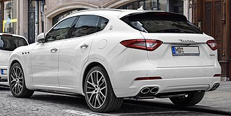 Maserati Levante - Rear view