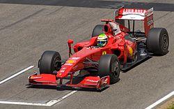 2009年スペインGPでのF60フェリペ・マッサがドライブ