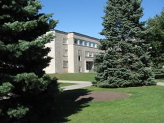 Vincent Massey - Vincent Massey library at Royal Military College of Canada in Kingston, Ontario