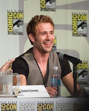 Matt Ryan (actor) - Ryan at San Diego Comic Con in 2014