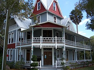 National Register of Historic Places listings in Hernando County, Florida - Image: May Stringer House 01