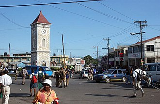 Clarendon Parish, Jamaica - May Pen town centre