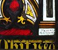 Mayer and Co maker's mark, St Mawnan and St Stephen's Church, Mawnan.jpg