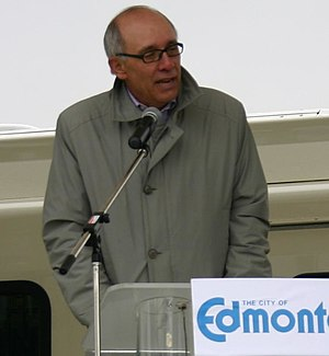 Edmonton municipal election, 2010 - Image: Mayor Stephen Mandel