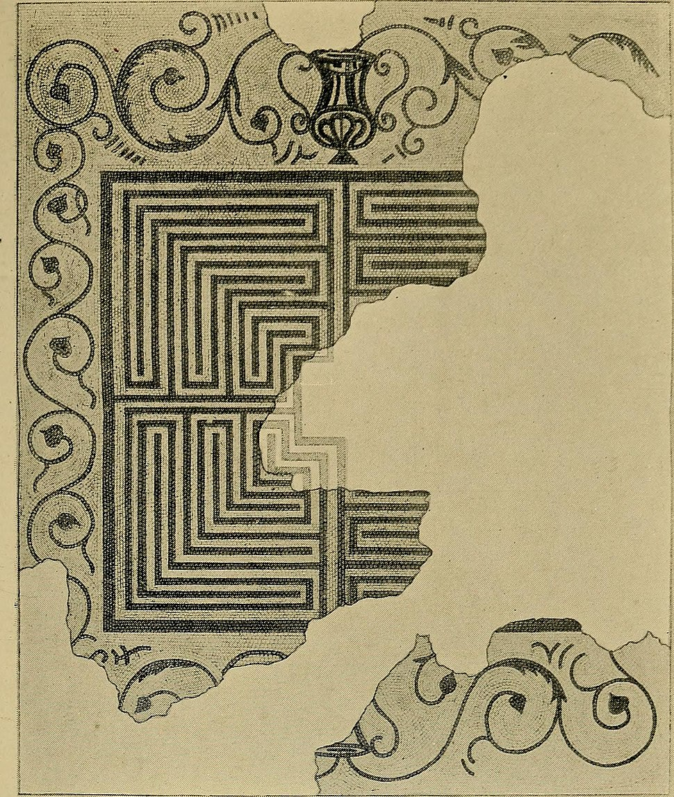 Mazes and labyrinths; a general account of their history and developments (1922) (14784601135)