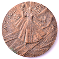 Medal. Rainis in Castagnole. 1977. K. Baumanis. Reverse.png