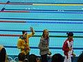 Medallistas de los 100m mariposa femenino en Londres 2012.jpg