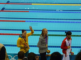 Alicia Coutts Australian swimmer, Olympic gold medallist