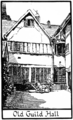 Mediaeval leicester billson f050 Old Guild Hall.png
