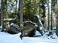 Medvědí stezka, Gotický portál 01.jpg