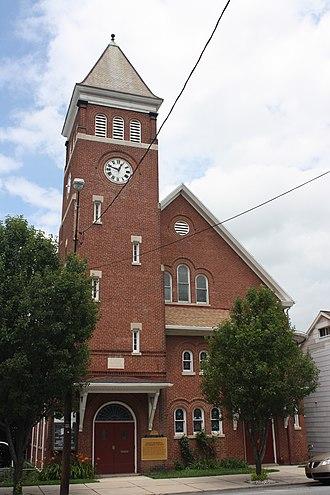 Nesquehoning, Pennsylvania - Meeds Memorial United Methodist Church,