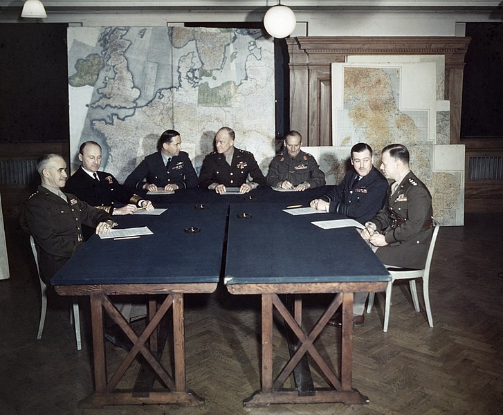 File:Meeting of the Supreme Command, Allied Expeditionary Force, London, 1 February 1944 TR1630.jpg