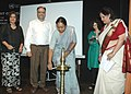"Meira Kumar lighting the lamp to inaugurate the cultural evening ""Spirit of Recovery"" on the eve of International Day Against Drug Abuse and Illicit Trafficking.jpg"