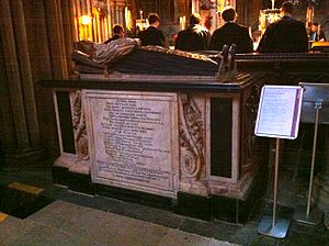 John Hacket - Memorial to John Hacket in Lichfield Cathedral