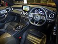 Mercedes-Benz C 180 Cabriolet Sports (A205) interior.jpg