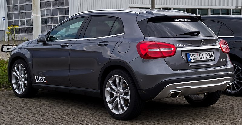 file mercedes benz gla 220 cdi 4matic urban x 156 heckansicht 13 juli 2014. Black Bedroom Furniture Sets. Home Design Ideas
