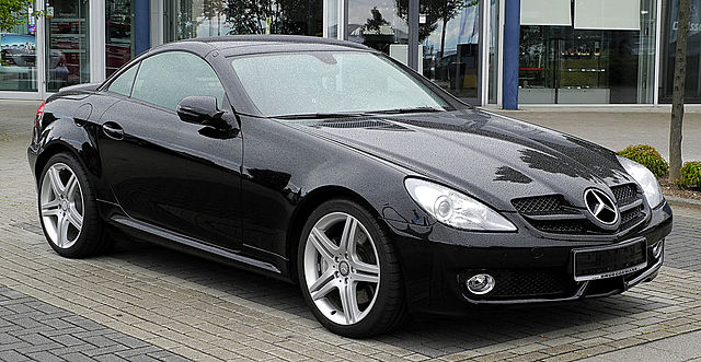 file mercedes benz slk 200 kompressor r 171 facelift frontansicht 23 juli 2011 mettmann. Black Bedroom Furniture Sets. Home Design Ideas