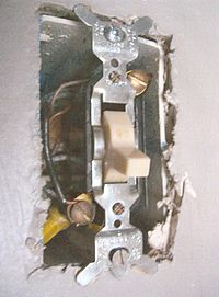 Mercury Light Switch: Mercury light switch from General Electric c. 1960, 120V 15A,Lighting