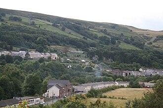 Merthyr Tydfil County Borough - View across Aberfan today