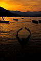 Mesmerizing sunset in phewa lake.jpg