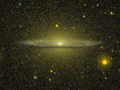 Messier 104 - Sombrero Galaxy - Galex Wikisky.png