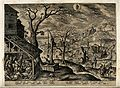 Meteorology; the seasons. Engraving by A. Collaert after H. Wellcome V0024896.jpg