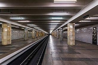 Polezhayevskaya - Image: Metro MSK Line 7 Polezhaevskaya