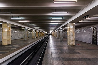 How to get to Полежаевская with public transit - About the place