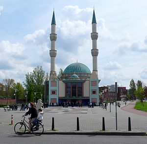 Turks in the Netherlands - The Turkish Mevlana Mosque in Rotterdam was voted the most attractive building in 2006.
