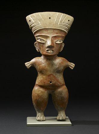 Tlapacoya (archeological site) - Tlapacoya style figurine, 1200-900 BC, Walters Art Museum