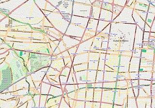 Neighborhood of Mexico City in Miguel Hidalgo, D.F., Mexico