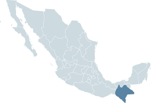 Mexico map, MX-CHP.svg