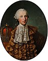 Meytens and workshop - Joseph II in Spanish Mantelkleid, oval.jpg