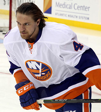 Michael Grabner - Grabner with the New York Islanders in January 2015