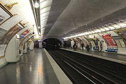 Michel-Ange Molitor 9 (m�tro Paris) vers Montreuil par Cramos
