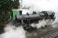 Mid Hants Railway - steamy Mickey (geograph 4865447).jpg