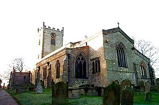 Church of St Mary and St Alkelda, Middleham Church in North Yorkshire, England