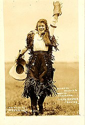 cowgirl - wiktionary