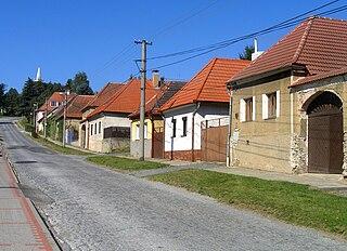Miličín Village in Benešov District of Central Bohemian region