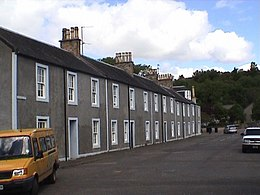 Mill workers' cottages, Bridge Street, Catrine.jpg