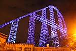 Millennium Force lift hill at night.jpg