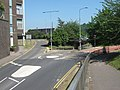 Mini Roundabout on Claremont Avenue, Chatham - geograph.org.uk - 1383054.jpg